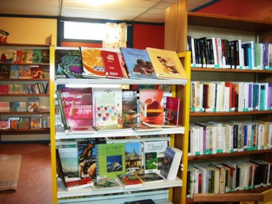 La bibliothèque de Saint Ségal